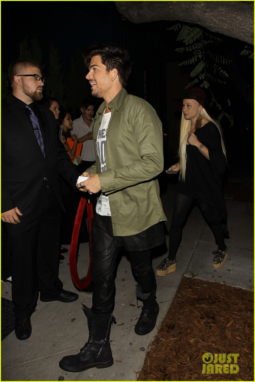 adam lambert ashley greene hooray henrys opening night 082925916