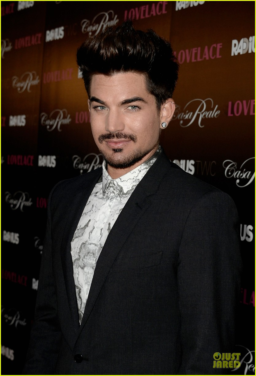 adam lambert lovelace hollywood premiere 022924661