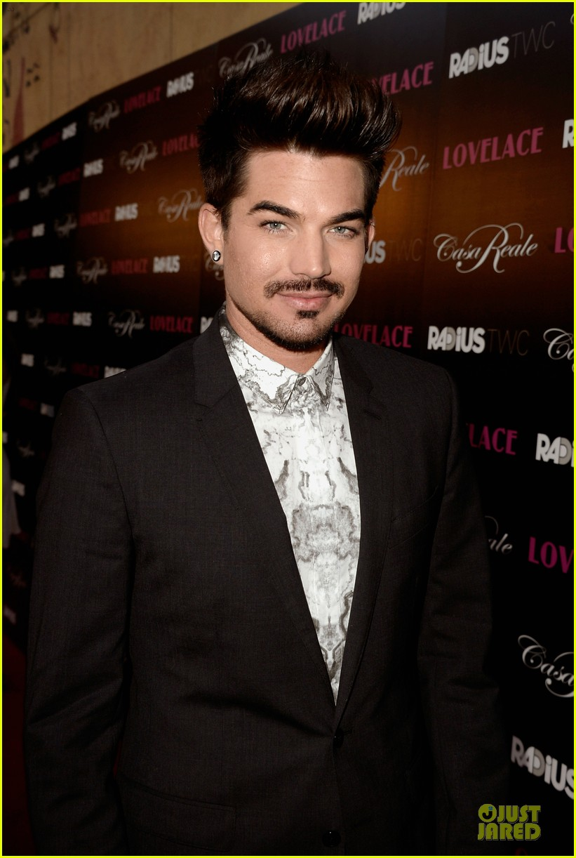 adam lambert lovelace hollywood premiere 122924671