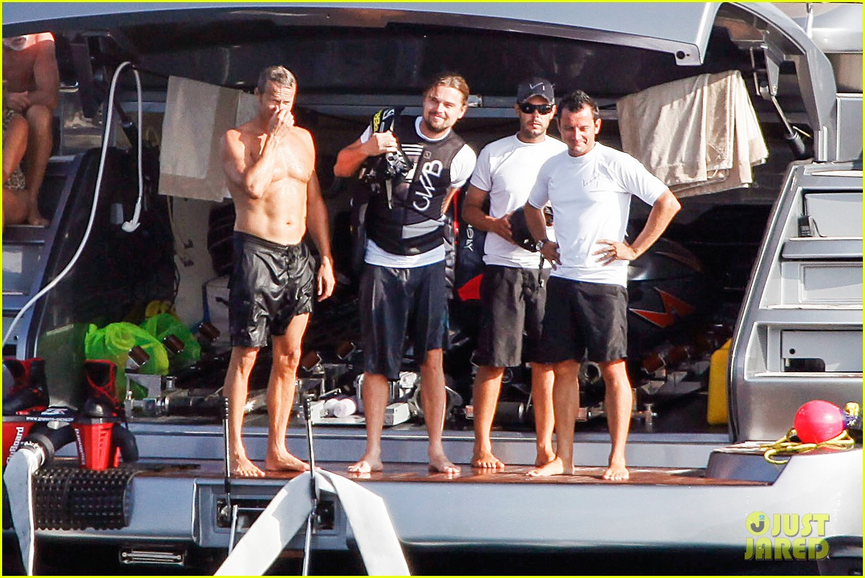 leonardo dicaprio flyboards in the air during ibiza vacation 072925479