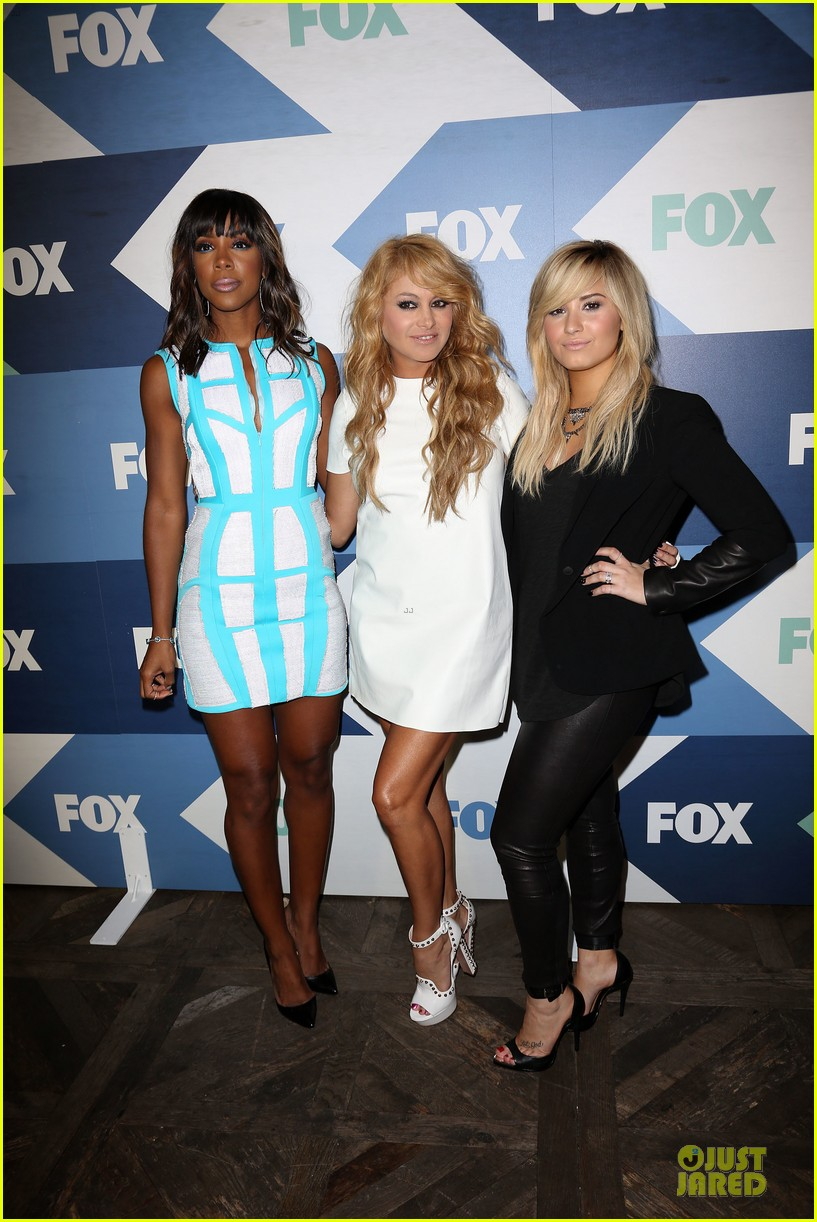 demi lovato kelly rowland fox summer tca all star party 01