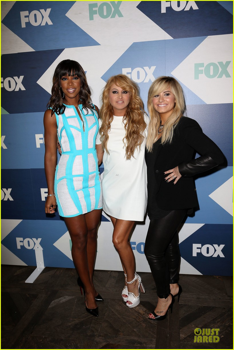 demi lovato kelly rowland fox summer tca all star party 20