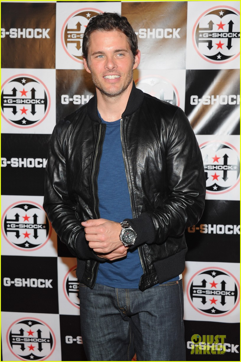 james marsden jessica stam g shock shock the world party 162925877