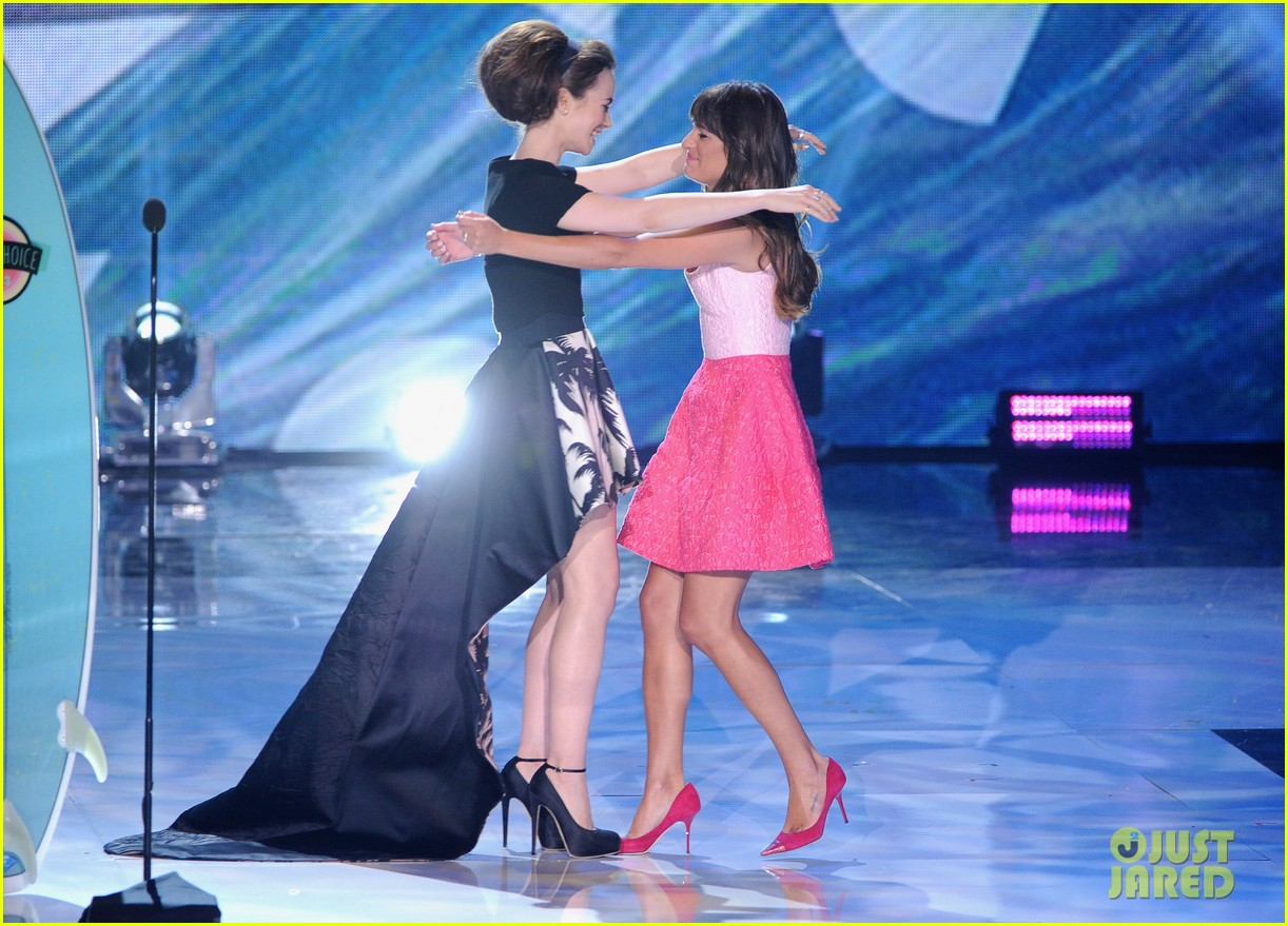 lea michele teen choice awards speech video watch now 03