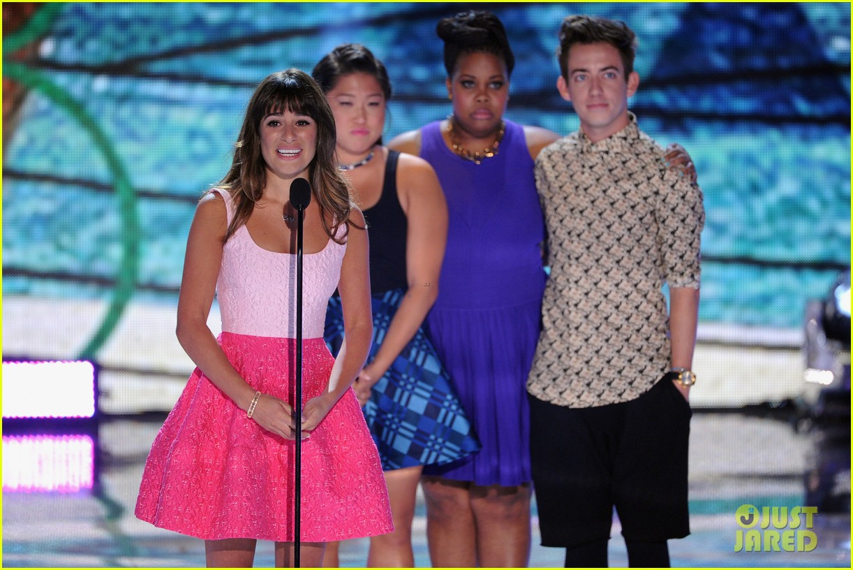 lea michele teen choice awards speech video watch now 10