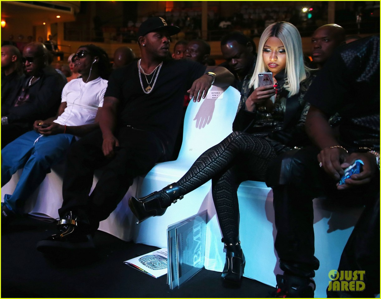 nicki minaj lil wayne bmi rbhip hop awards 2013 20