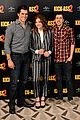 chloe moretz christopher mintz plasse kick ass 2 london photo call 01