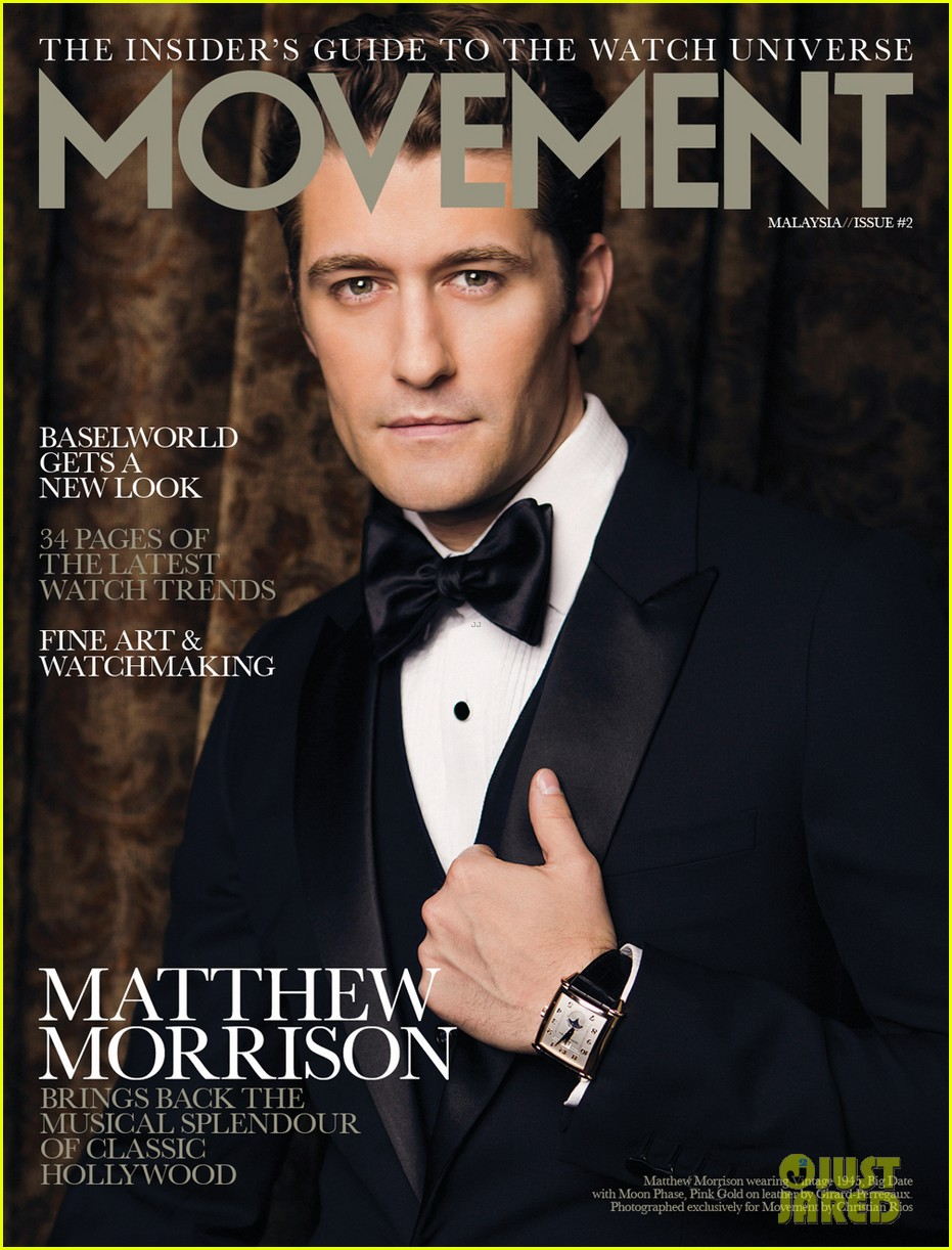 matthew morrison covers august man movement august 2013 052927199