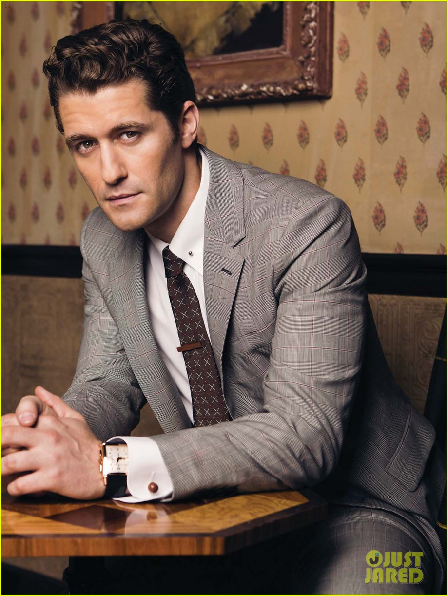matthew morrison covers august man movement august 2013 10