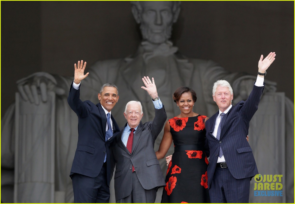 barack michelle obama mark 50 years of i have a dream 16