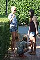 gwyneth paltrow apple moped to coffee shop 12