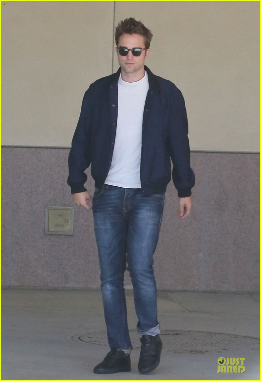 robert pattinson cool office building exit 14