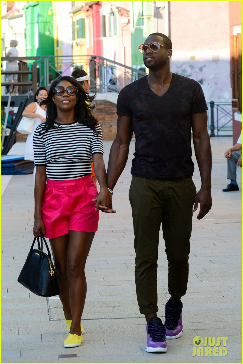 freida pinto venice sightseeing with gabrielle union dwyane wade 102941065