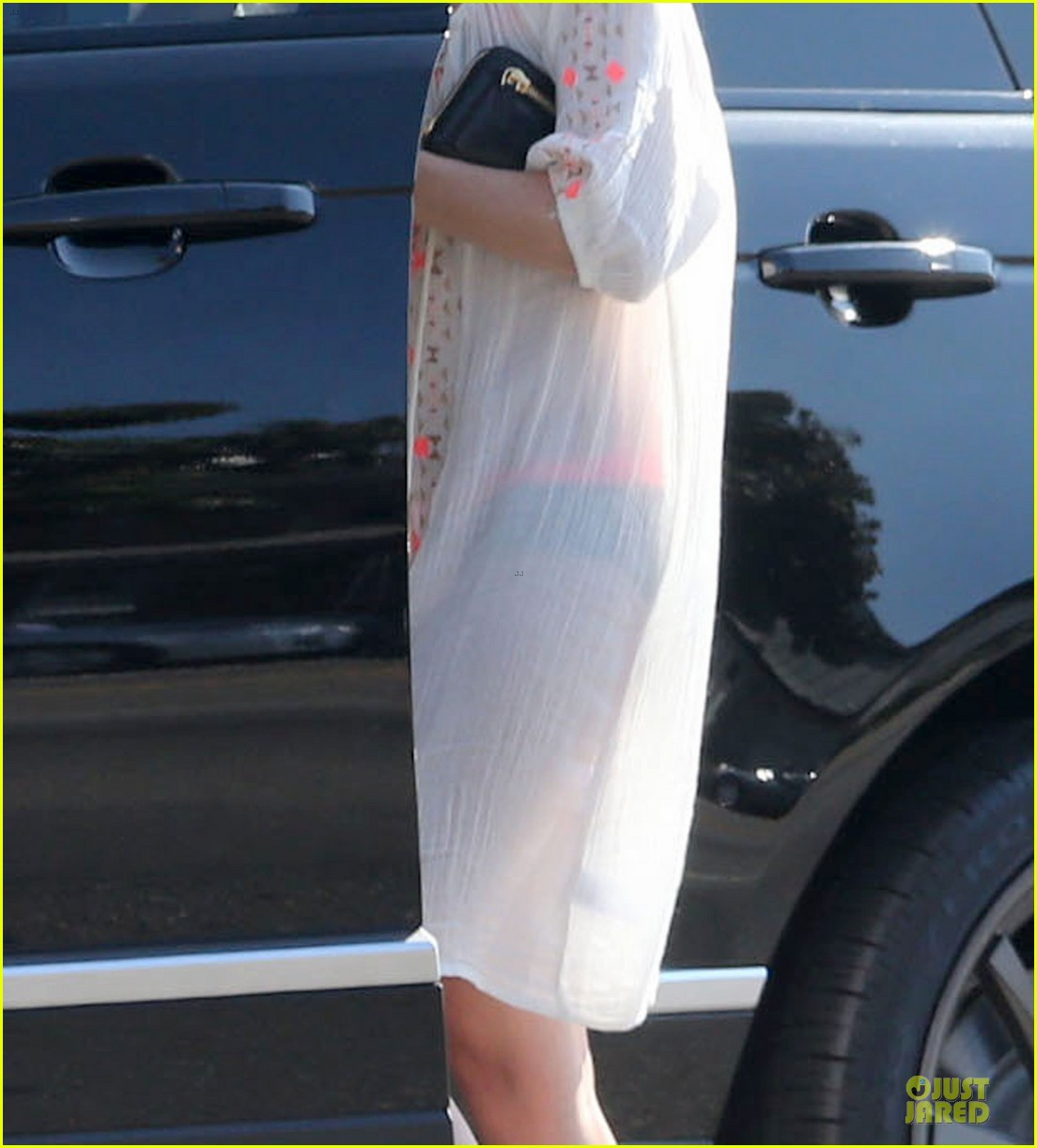 ellen pompeo sports sheer dress for ice cream stop 152928920