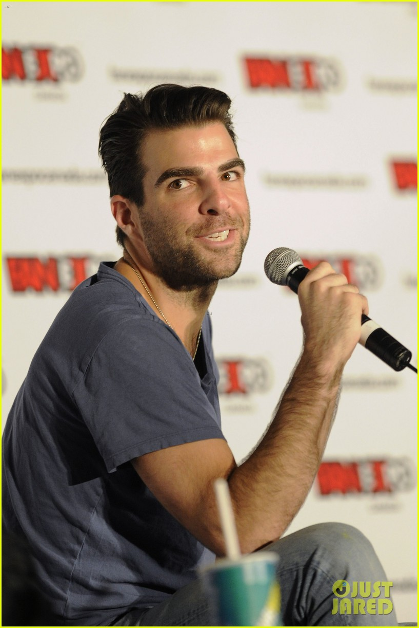 zachary quinto julie benz fan expo canada 072937138