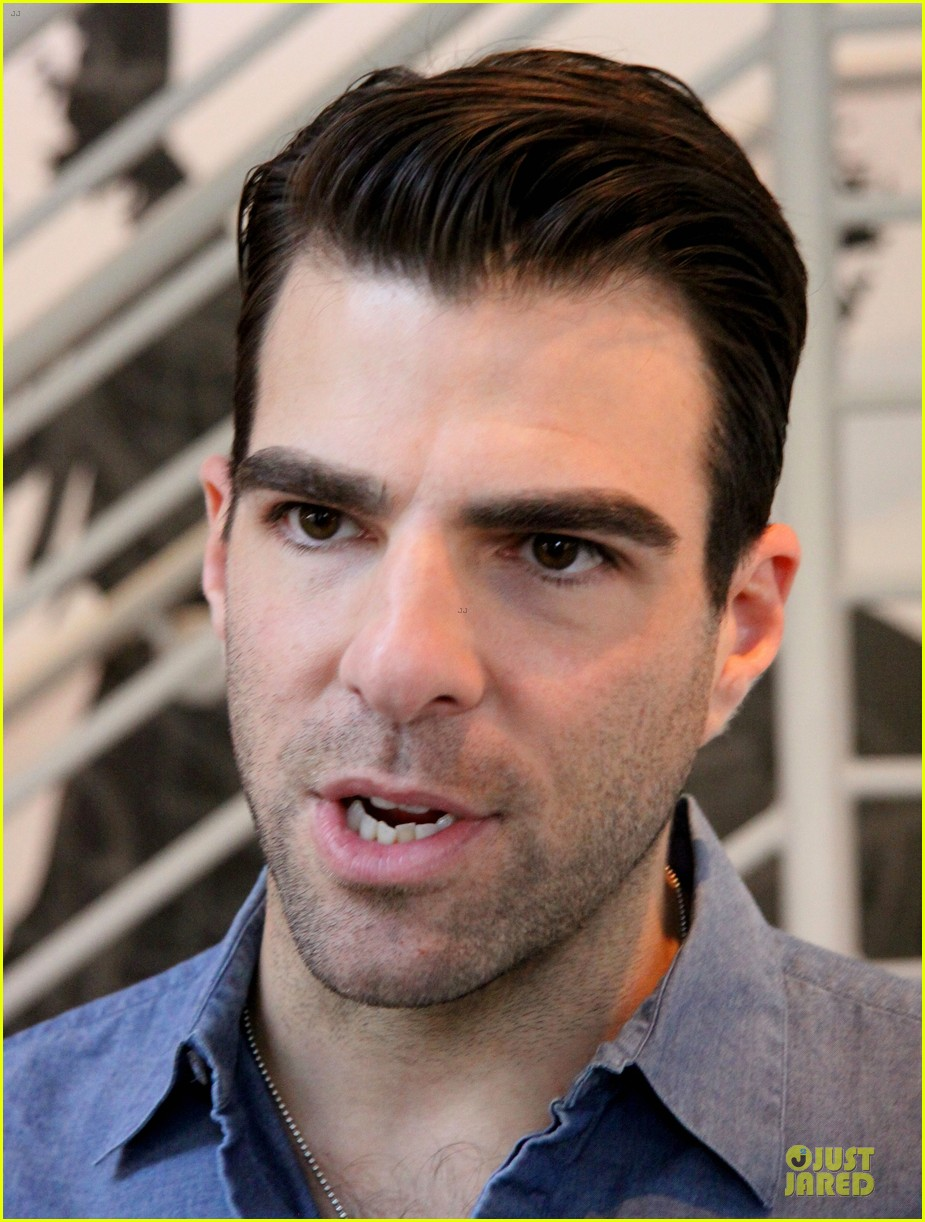 zachary quinto the glass menagerie media day 21
