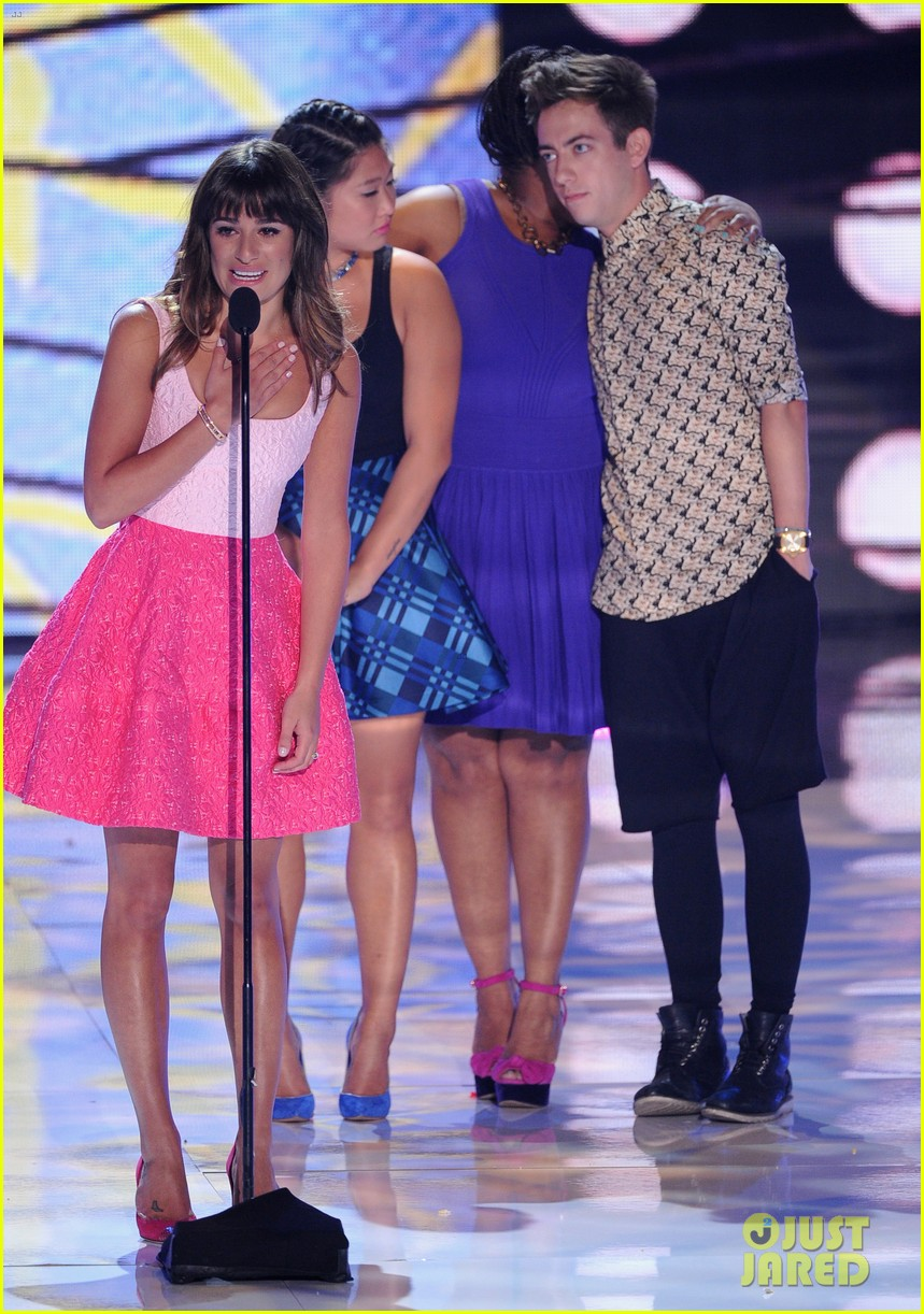 naya rivera amber riley teen choice awards 2013 03