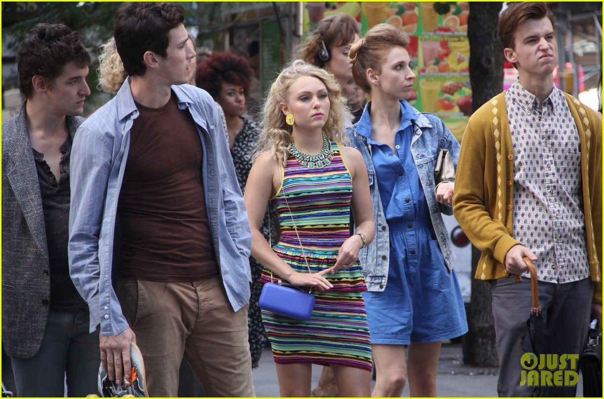 annasophia robb sarah jessica parker wished me luck 16