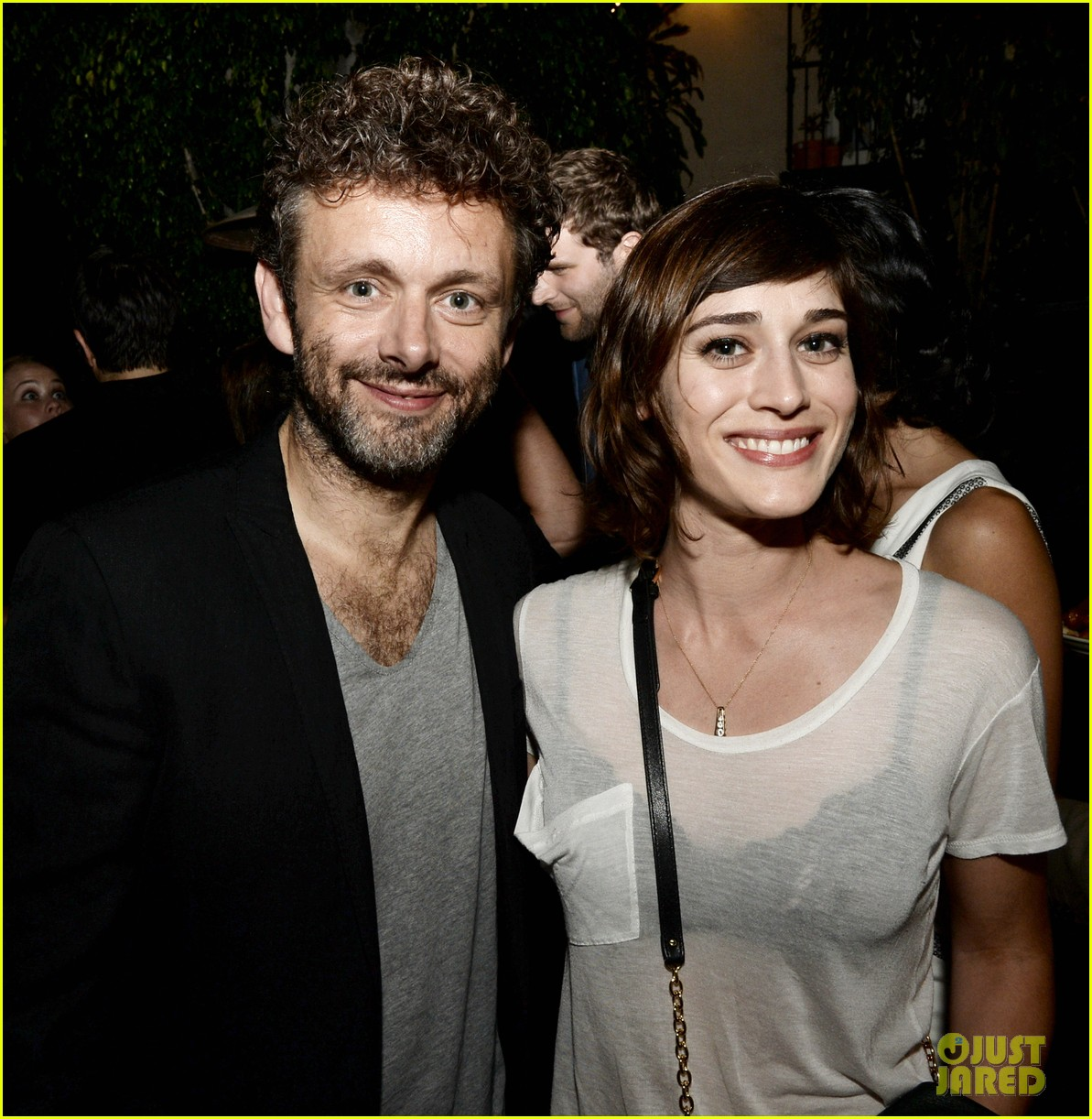 michael sheen lizzy caplan worlds end after party 02