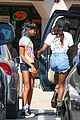 willow smith matches tye dyed hair with tye dyed shirt 16
