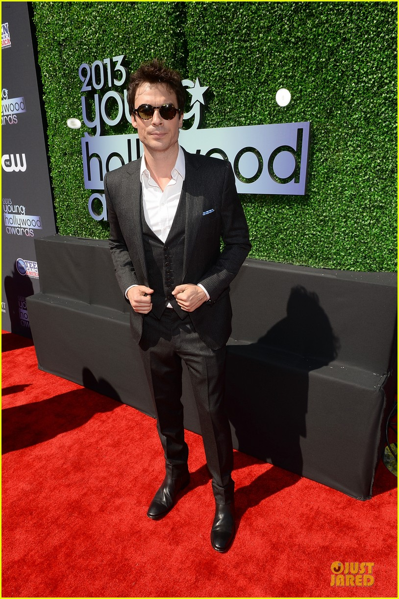ian somerhalder young hollywood awards 2013 red carpet 032921748