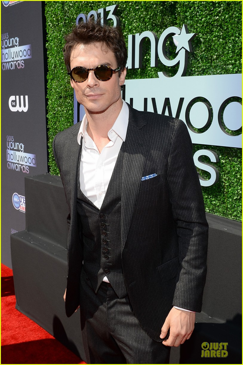 ian somerhalder young hollywood awards 2013 red carpet 11