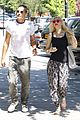 gwen stefani gavin rossdale hold hands for lunch 09
