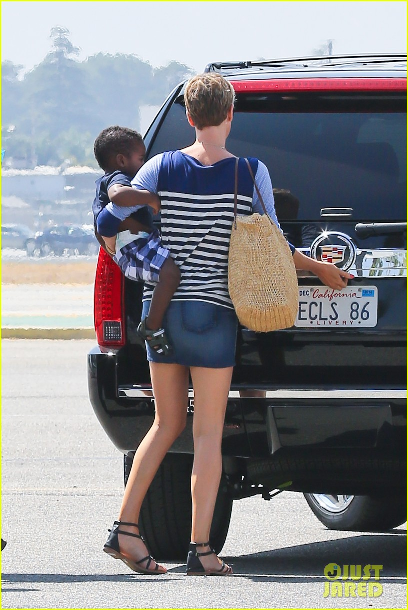 charlize theron jackson depart in los angeles together 112924871