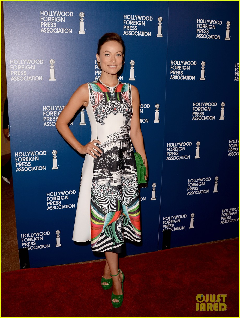 olivia wilde eva longoria hfpa interstellar luncheon 2013 052929505