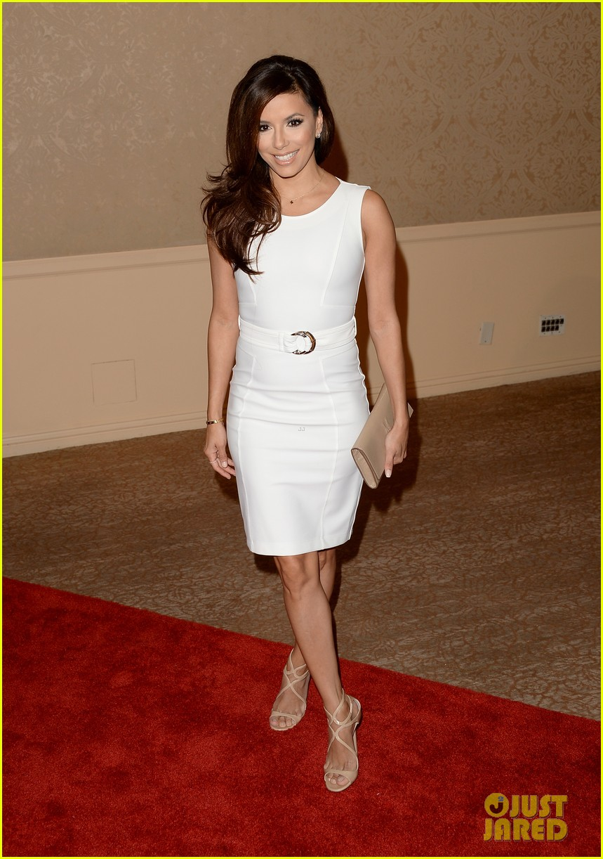 olivia wilde eva longoria hfpa interstellar luncheon 2013 072929507