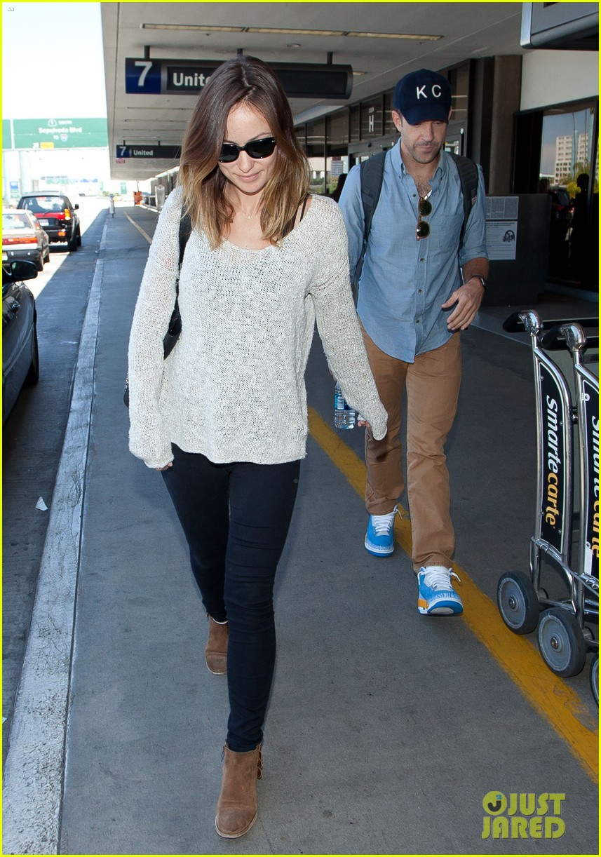 olivia wilde jason sudeikis from nyc to lax duo 01