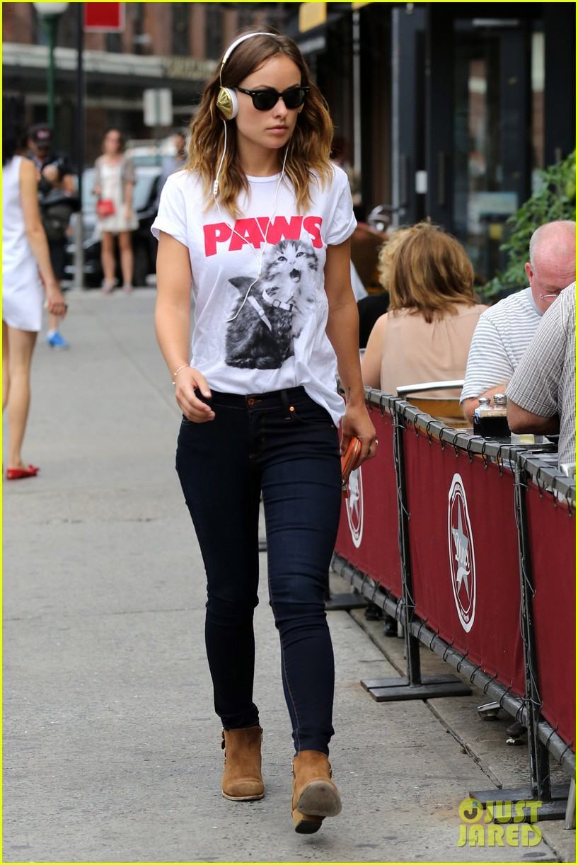 olivia wilde drinking buddies promo work in new york 13