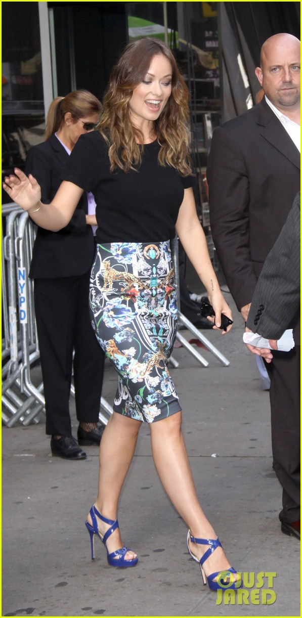 olivia wilde drinking buddies promo work in new york 24