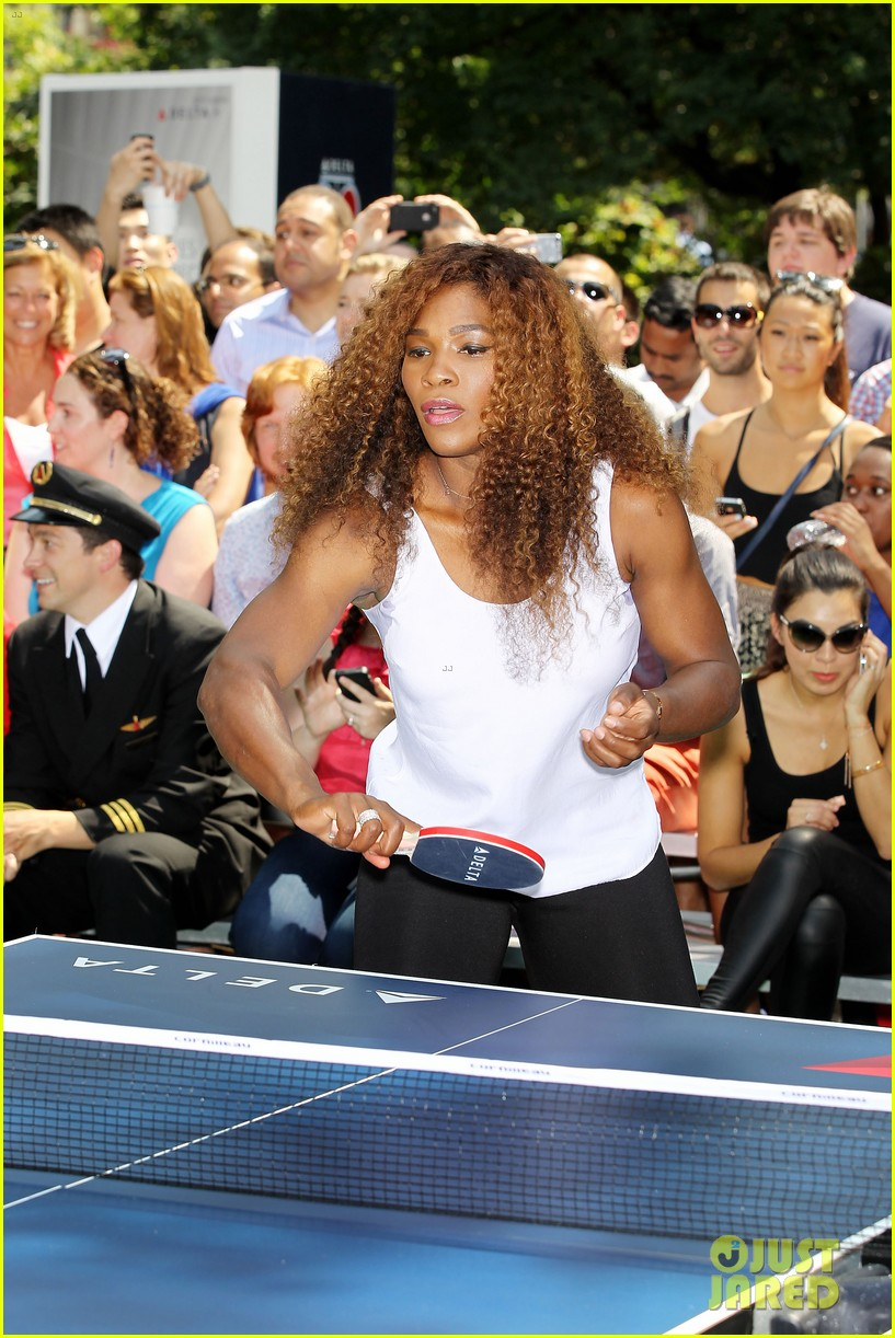 serena williams sports two hairstyles in one day 15