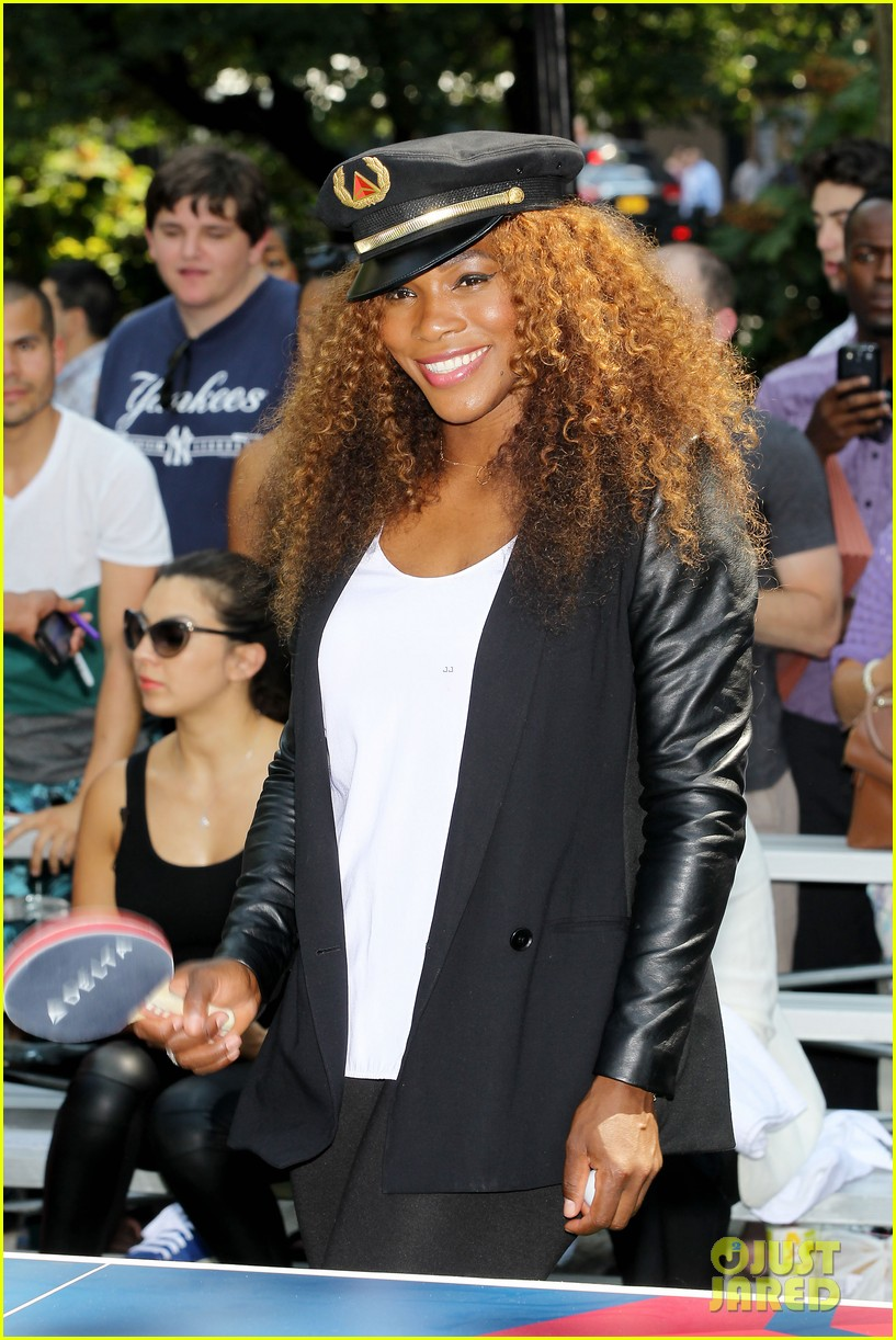 serena williams sports two hairstyles in one day 232935202