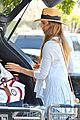 jessica alba labor day grocery shopping with honor 16