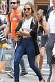 jessica alba rocks several outfits for new york fashion week 08