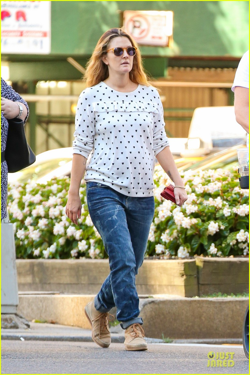 drew barrymore will kopelman central park fun with olive 332962245