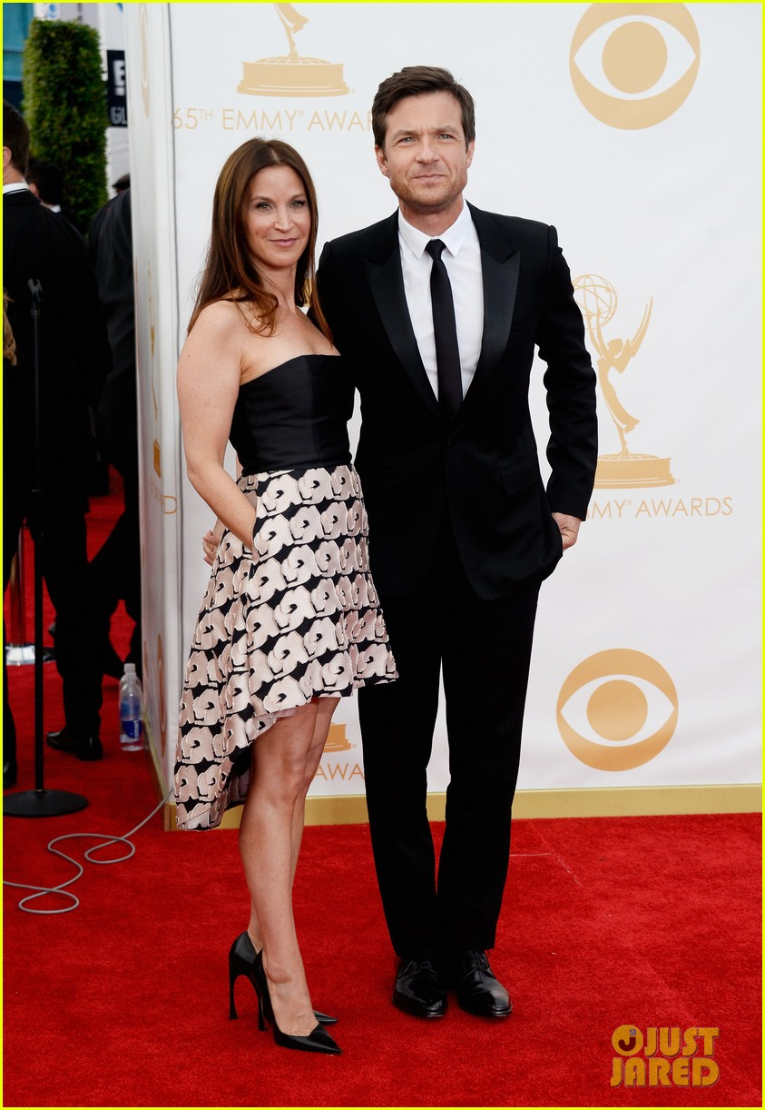 jason bateman will arnett emmys 2013 red carpet 012958364