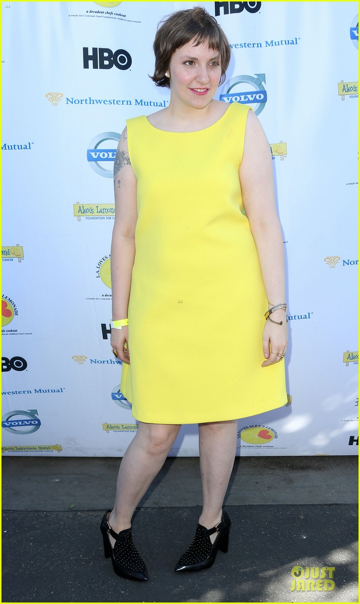 camilla belle lena dunham la loves alex lemonade event 122962108