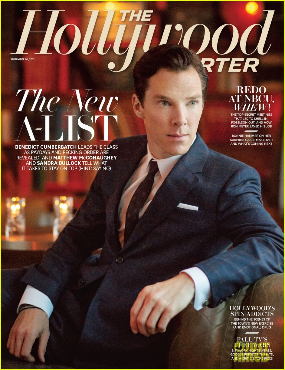 bendict cumberbatch covers thrs new a list issue 012950067