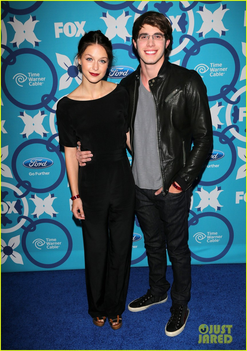 melissa benoist blake jenner fox fall eco casino party 292949329