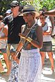 beyonce shows off soccer skills at brazil public school 02