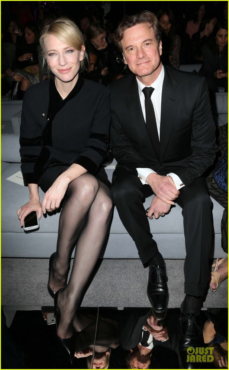cate blanchett colin firth tom ford fashion show 052953916