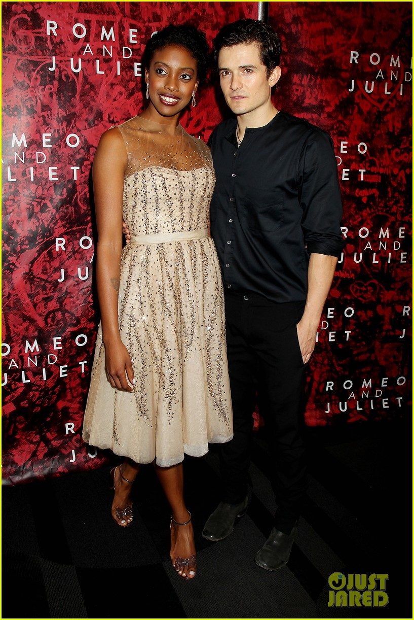 orlando bloom romeo juliet opening with condola rashad 012955789