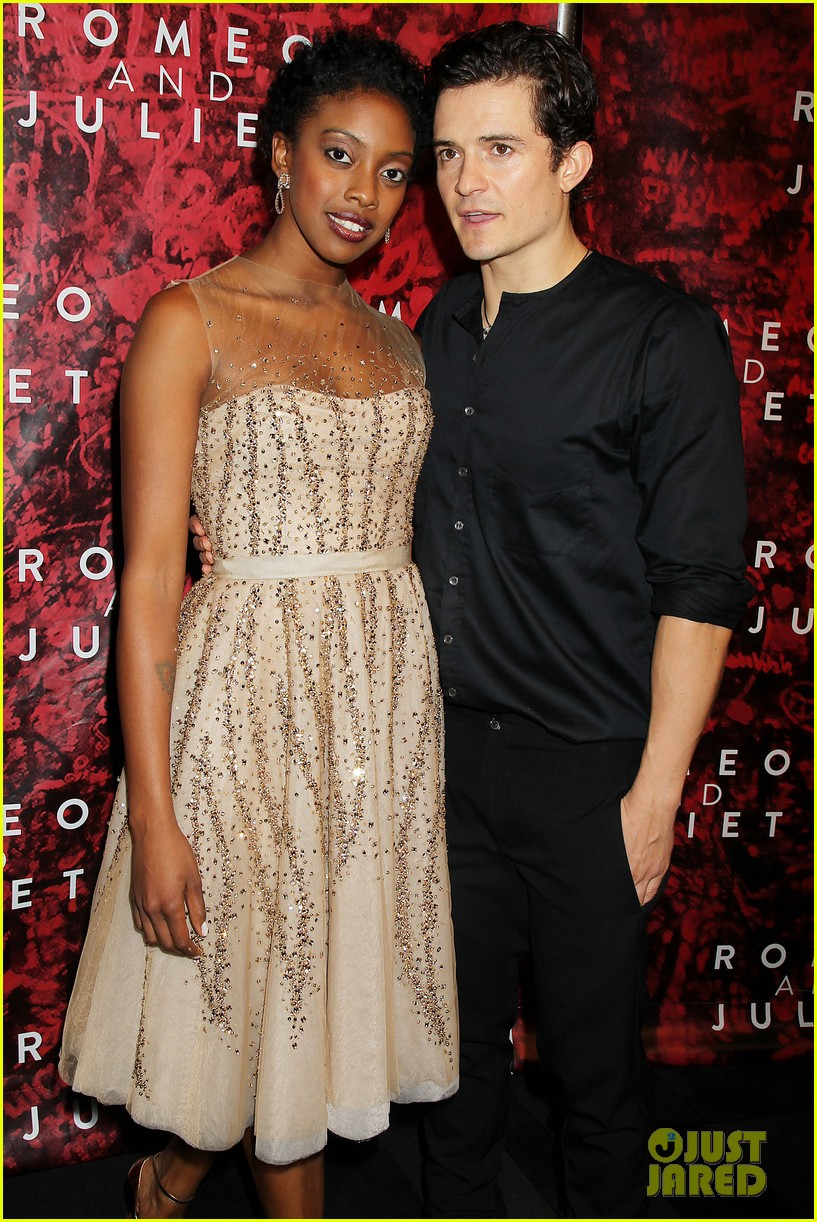 orlando bloom romeo juliet opening with condola rashad 09