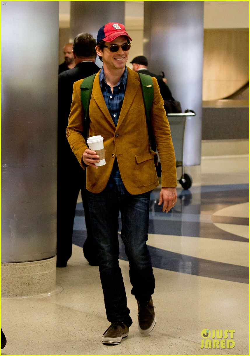 matt bomer emilia clarke land in los angeles for emmys 022957273