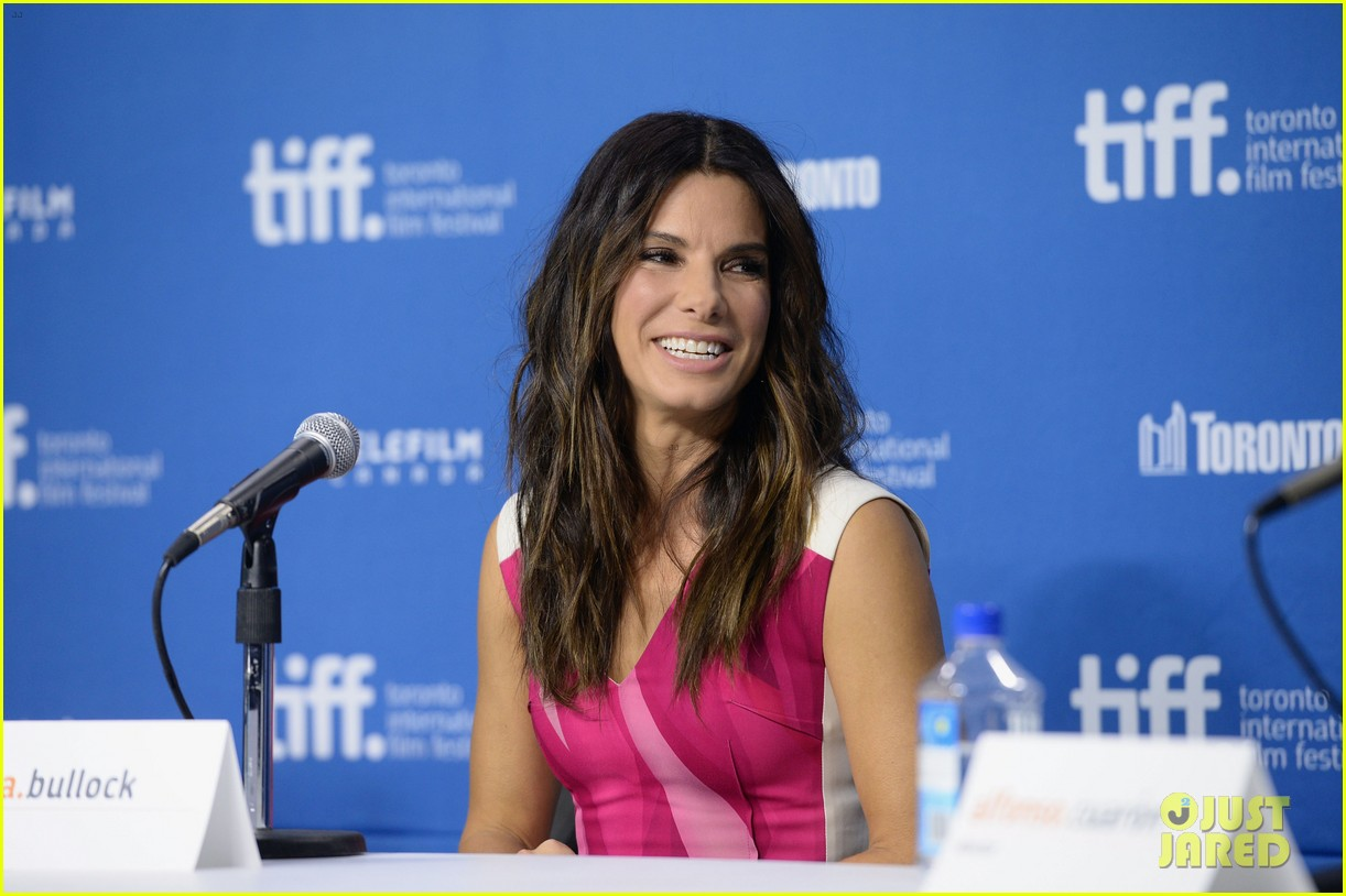 sandra bullock gravity tiff press conference 162948143