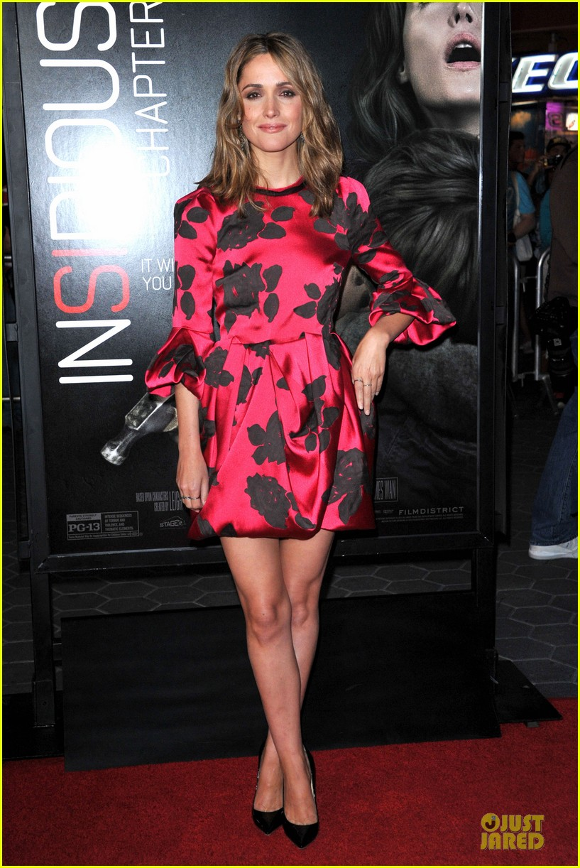 rose byrne patrick wilson insidious chapter 2 premiere 06