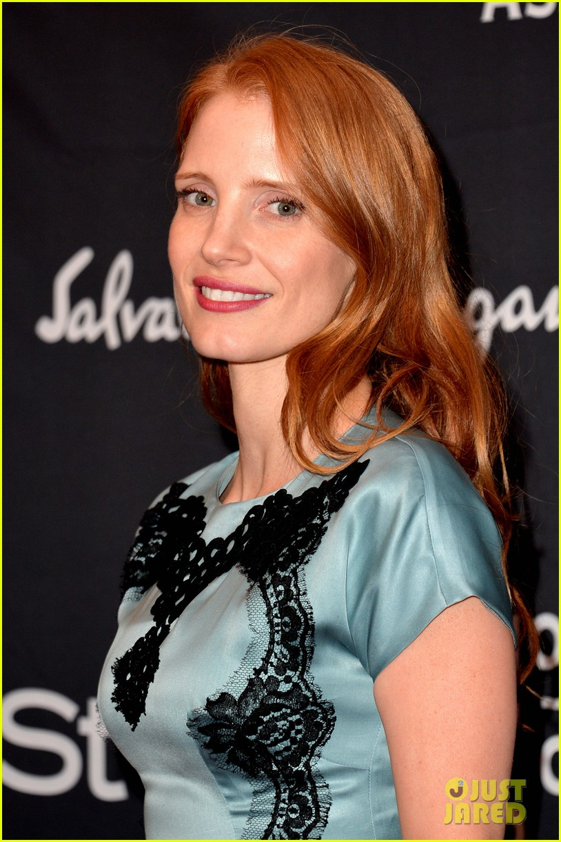 jessica chastain jennifer morrison hfpa instyle tiff party 092949116